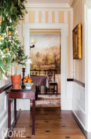 connecticut country house entrway