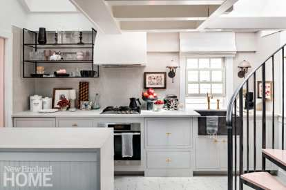 provincetown apartment kitchen