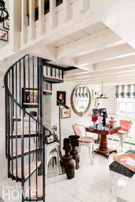 provincetown apartment staircase