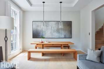 modern beacon hill dining area