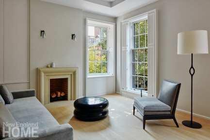 modern beacon hill living room