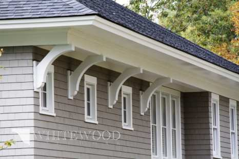 custom exterior millwork eaves