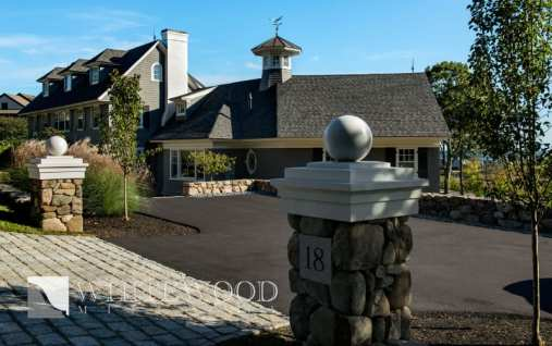 custom exterior millwork driveway