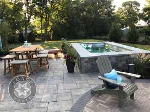 Plunge Pool New England patio