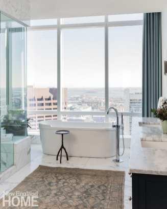 boston high-rise master bathroom