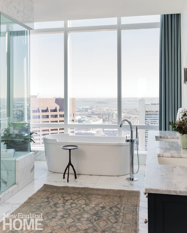 boston high-rise master bathroom