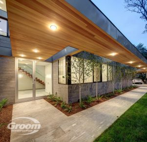 cost to build a contemporary home walkway