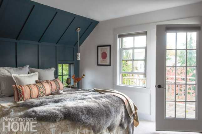 Beverly Farms carriage house bedroom