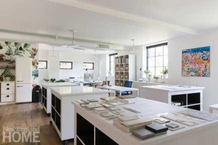 Jess Cooney designer workspace