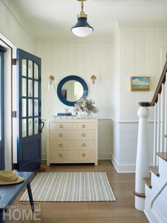 quonnie beach house entryway