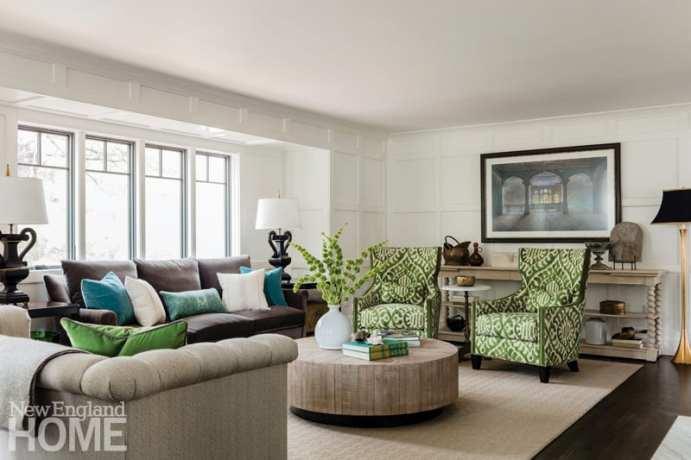 Andover condo living room