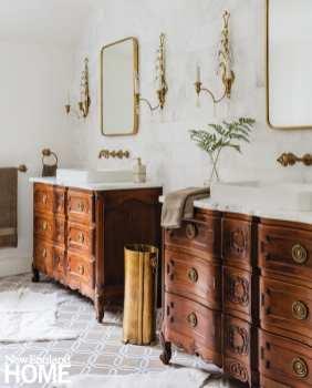 Andover condo master bathroom