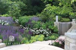 beautiful garden all year long green