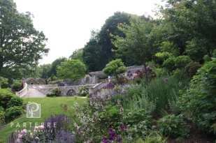 beautiful garden all year long evergreens