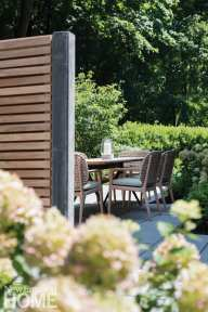 new england outdoors dining table