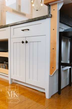 ways to modernize custom cabinets detail