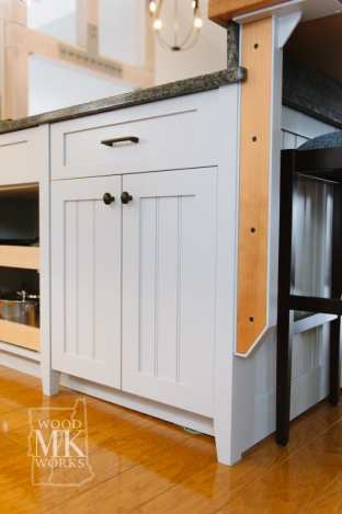 ways to modernize custom cabinets detail