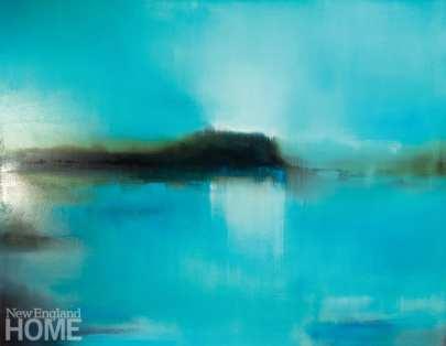 Liz Dexheimer paintings Great Open Sky II