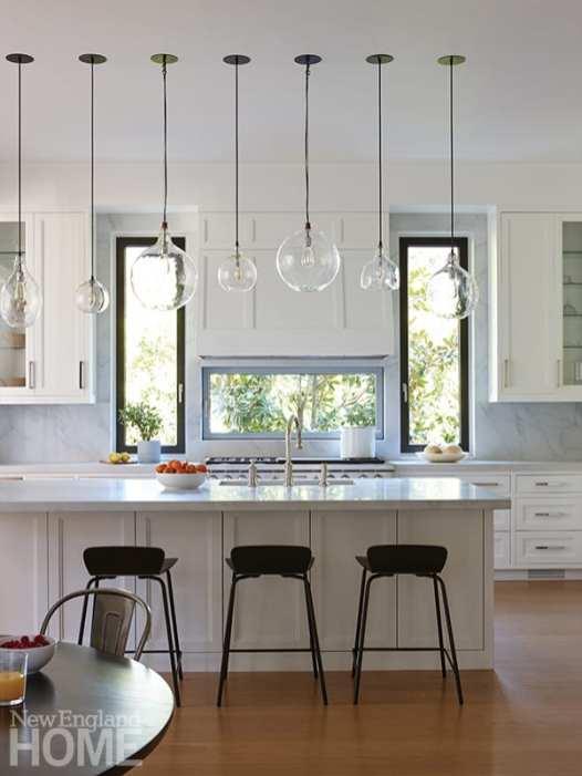 modern riverside home kitchen
