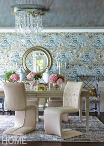 Andrea Sinkin Greenwich Home dining room