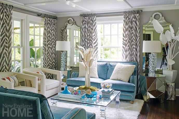 Andrea Sinkin Greenwich Home living room