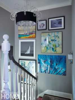 Andrea Sinkin Greenwich Home stairway