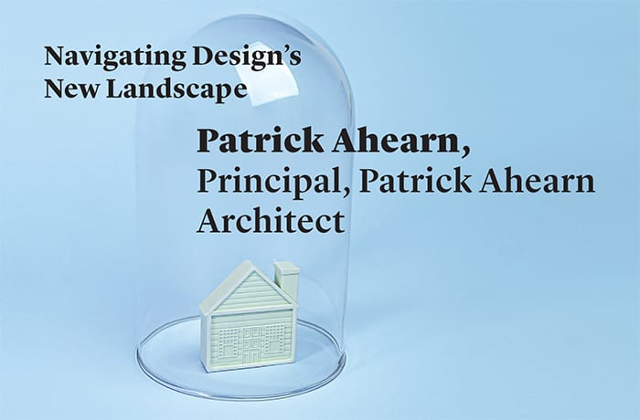 Design dialog Patrick Ahearn
