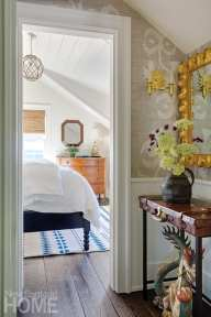 View from hallway to bedroom