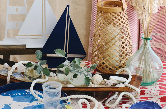 Setting a Nautical-Inspired Table