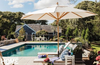 Chatham pool and patio