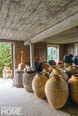 Antique Greek oil jars