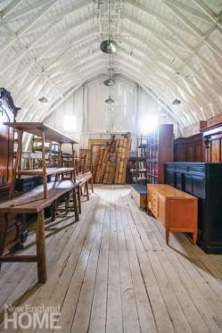 Michael Trapp's barn filled with antiques