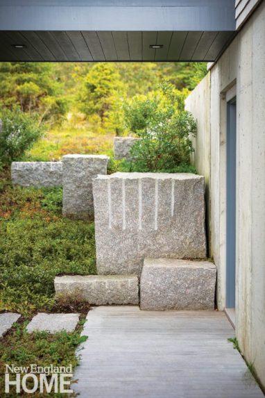 Granite sculpture.