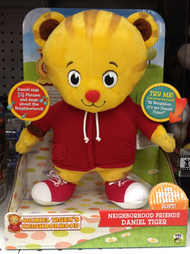 Neighborhood Friends Plush Daniel Tiger  The Daniel Tigers Neighborhood Archive