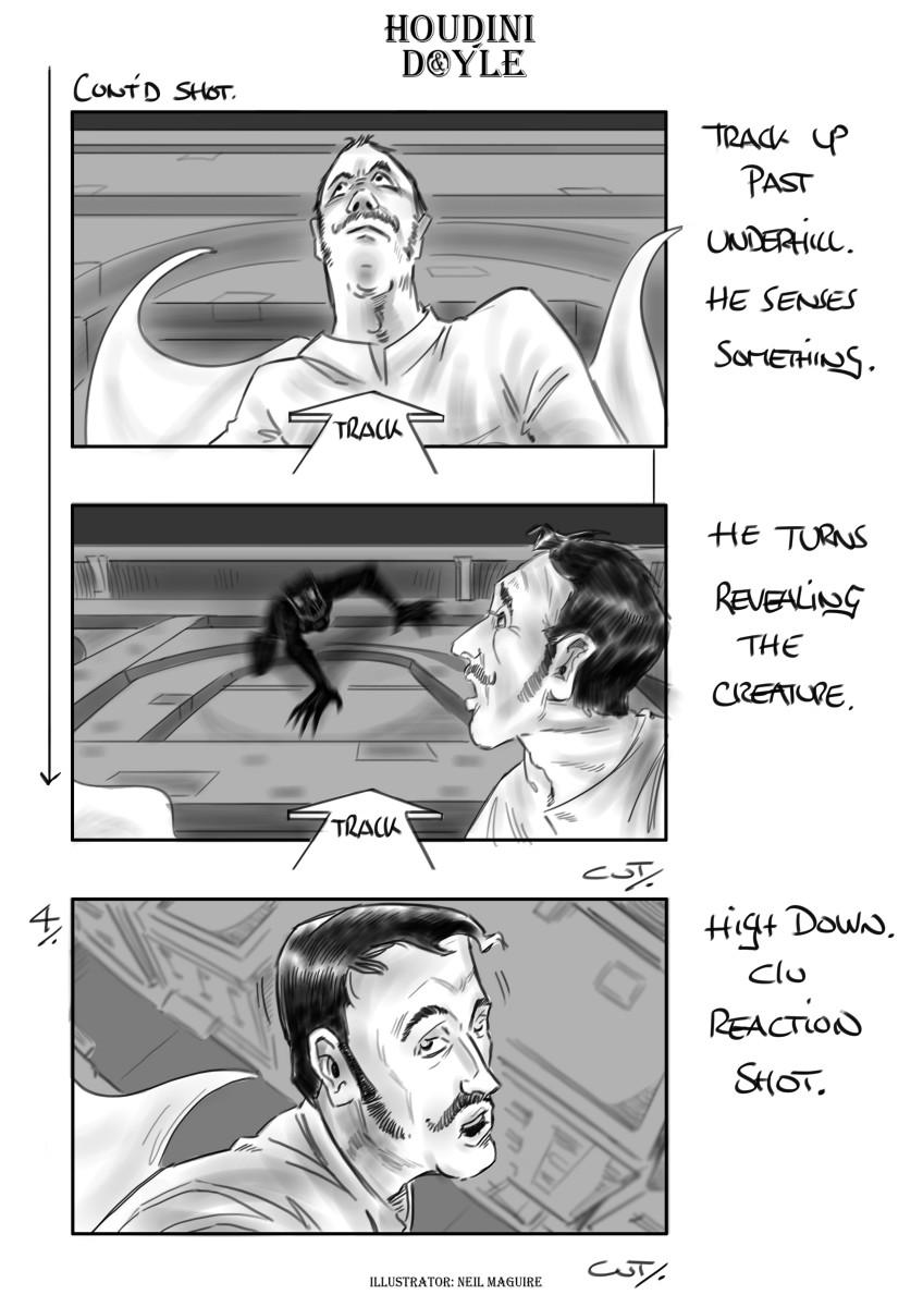 Houdini & Doyle | Neil Maguire