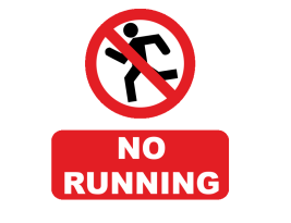 Barriers to running