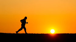 A defence of the seriousness of running