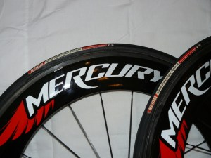 Fast wheels from a new company - Mercury