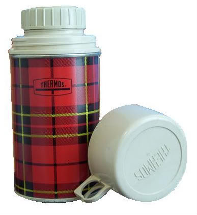 My Plaid Thermos