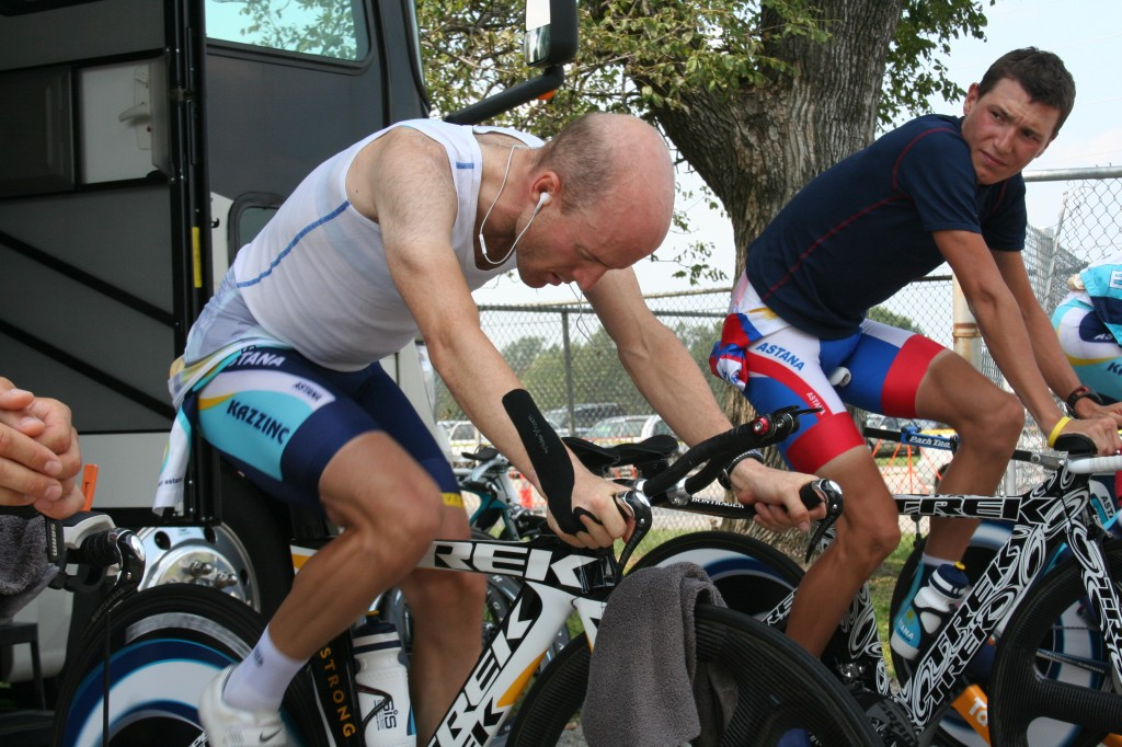 Leipheimer and the Tour de Suisse
