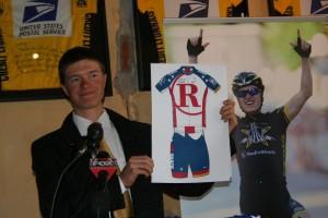 Ben King reveals 2011 Team RadioShack Kit