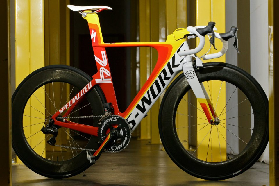 The 2014 Shiv road bike?