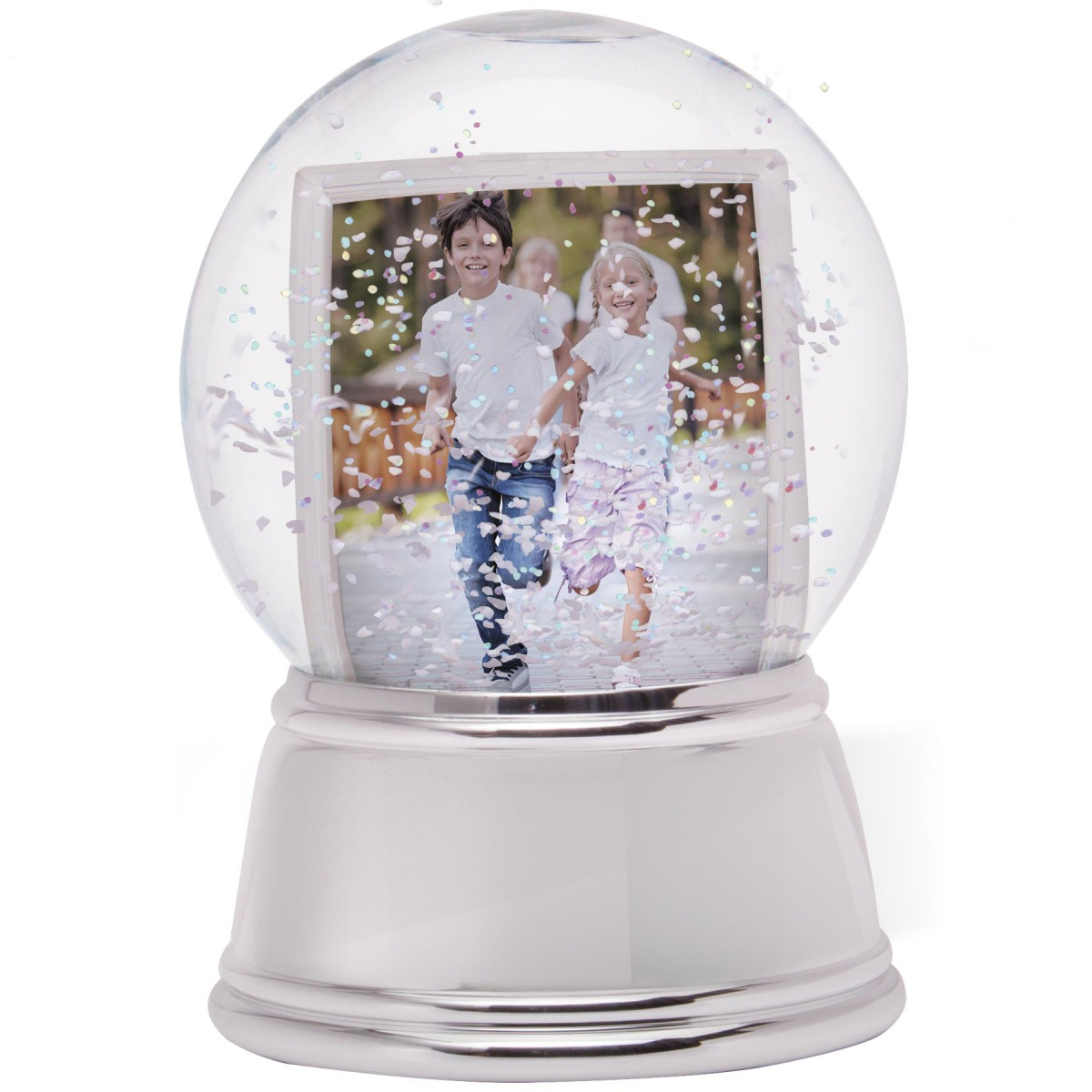 Wholesale Photo Snow Globes  Sphere Photo Snow Globe with