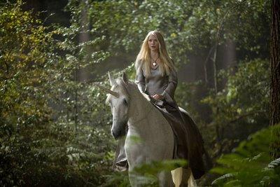 Yvaine on unicorn