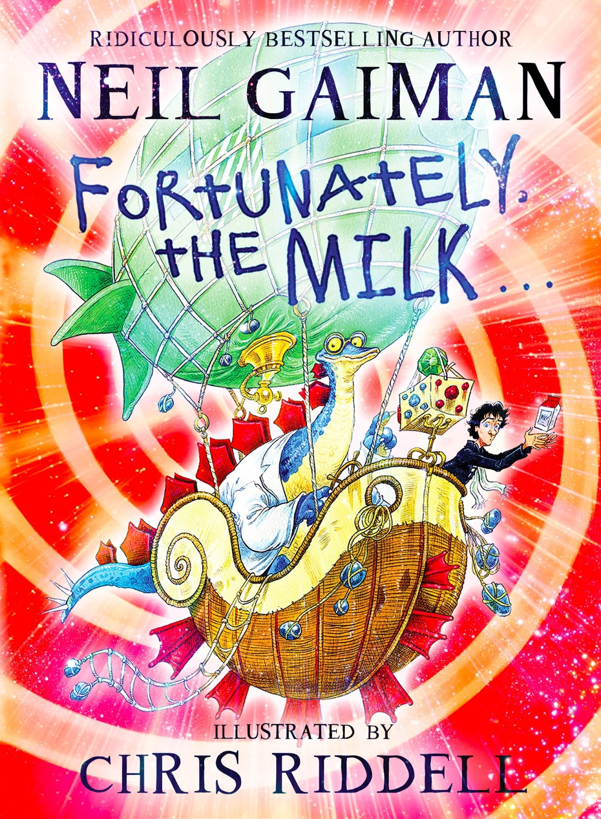 Fortunately the Milk - UK - Hardback