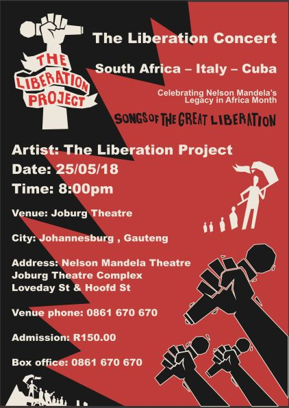 Liberation Concert Poster