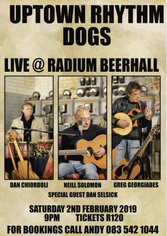 Uptown Rhythm Dogs at The Radium