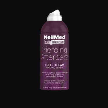 NeilMed NeilCleanse Piercing Aftercare Full Stream Spray