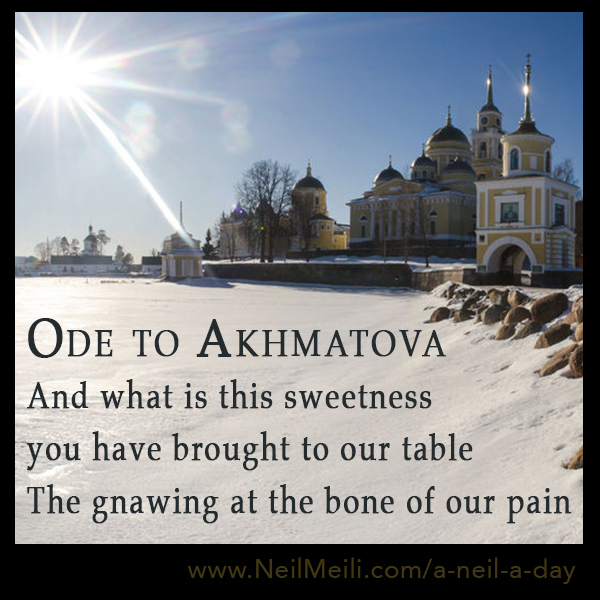 And what is this sweetness you have brought to our table The gnawing at the bone of our pain