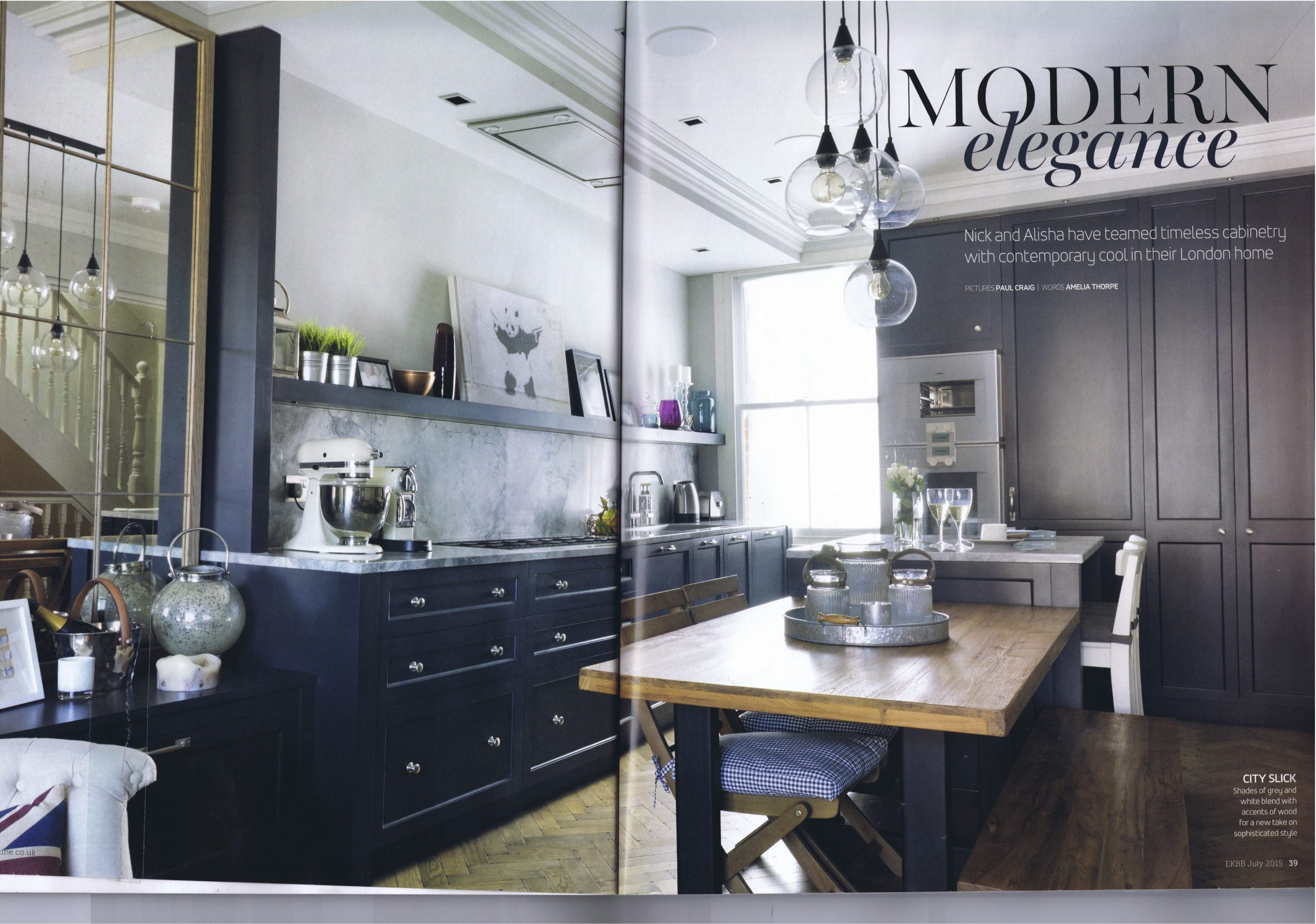 Essential kitchen bathroom bedroom magazine neil norton design for Essential kitchens and bathrooms